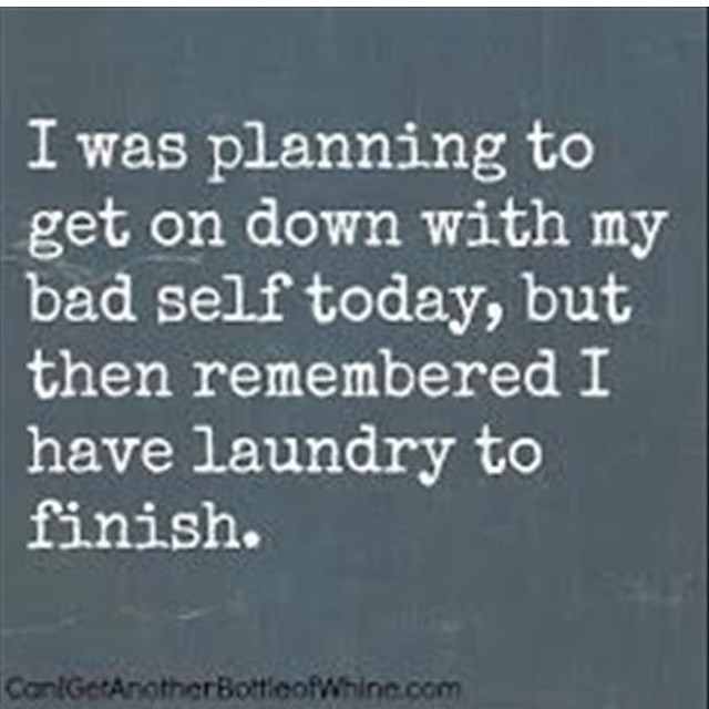 The laundry!! Never ends!