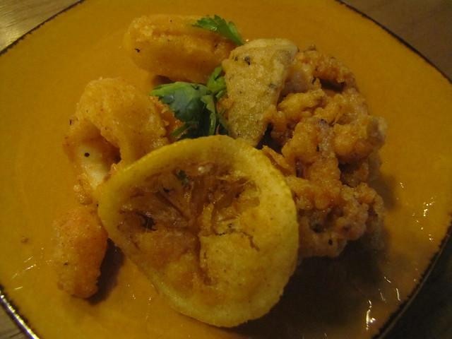 Calamari at TusCA Ristorante