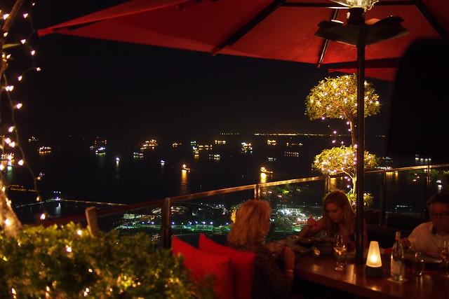 Tour of Singapore: view from Ku De Ta atop Marina Bay Sands