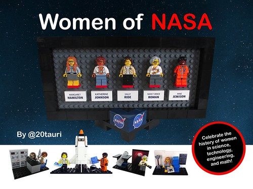 Women of NASA on LEGO Ideas