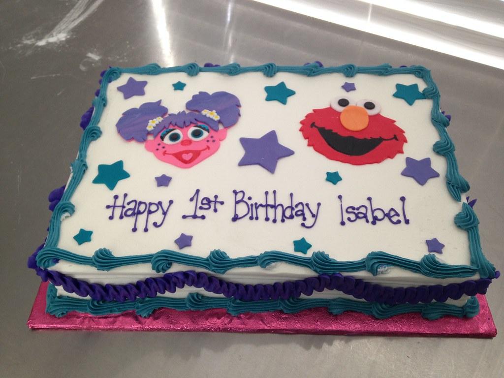 Abby Cadabby Elmo Cake