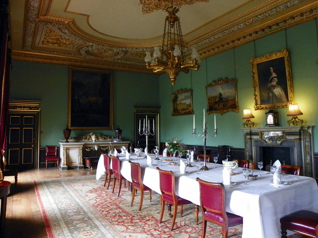 Wimpole Hall Dining Room