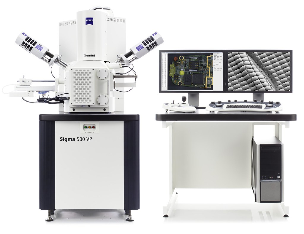 Zeiss Sigma 500 Vp Fe Sem Combine Field Emission Sem Fe