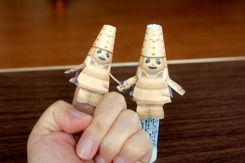 はに丸指人形