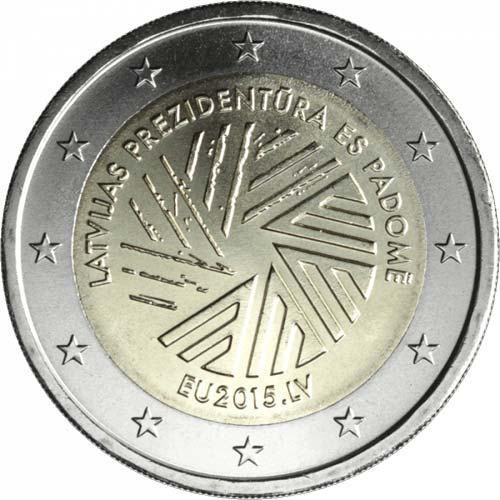 2 Euro Lotyšsko 2015, Lotyšské predsedníctvo v Rade EÚ