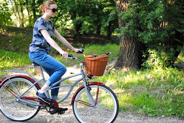 My cruiser bike