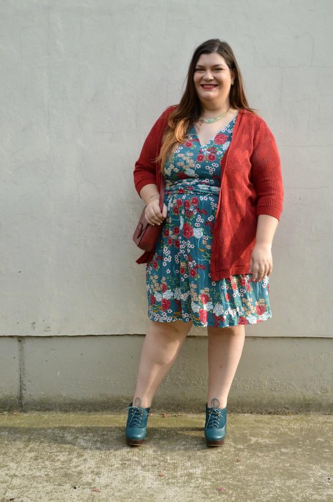 Outfit giorato e rosso (4)