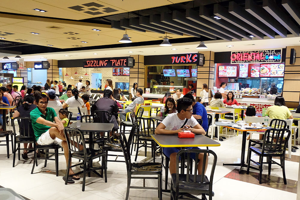 People Goto The Mall For The Food Court