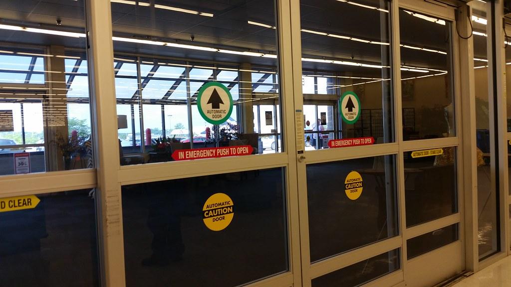 Walmartu0027s Automattic Doors | by justinthedog2 Walmartu0027s Automattic Doors | by justinthedog2 & Walmartu0027s Automattic Doors | Hobby Lobby Former Walmart Erieu2026 | Flickr