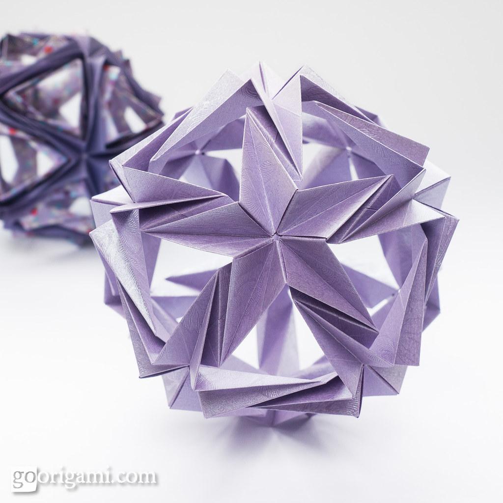Origami Kusudama Origami Kusudama Maria Sinayskaya A Rec Flickr