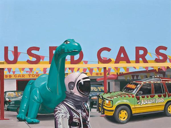 Scott Listfield - Jurassic Parking