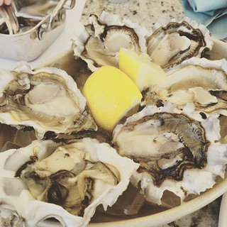 #kvpinmybelly Brunch with a view! Oysters at Tidal in #SanDiego. Catching up with TV buddy and meeting new friends! | by queenkv