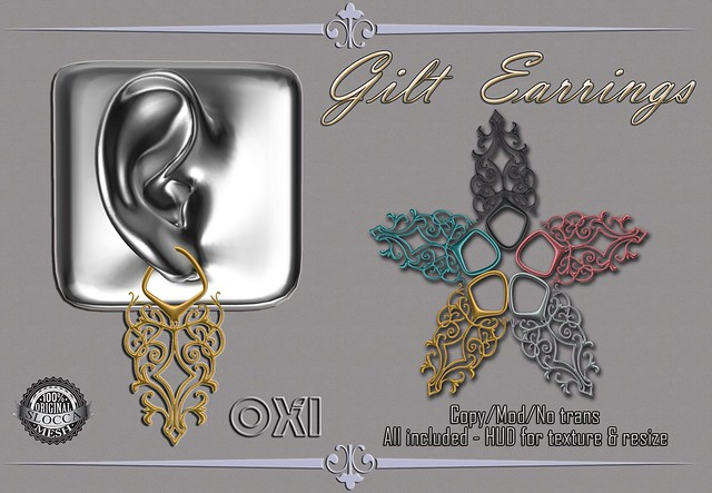 OXI - Gilt Earrings