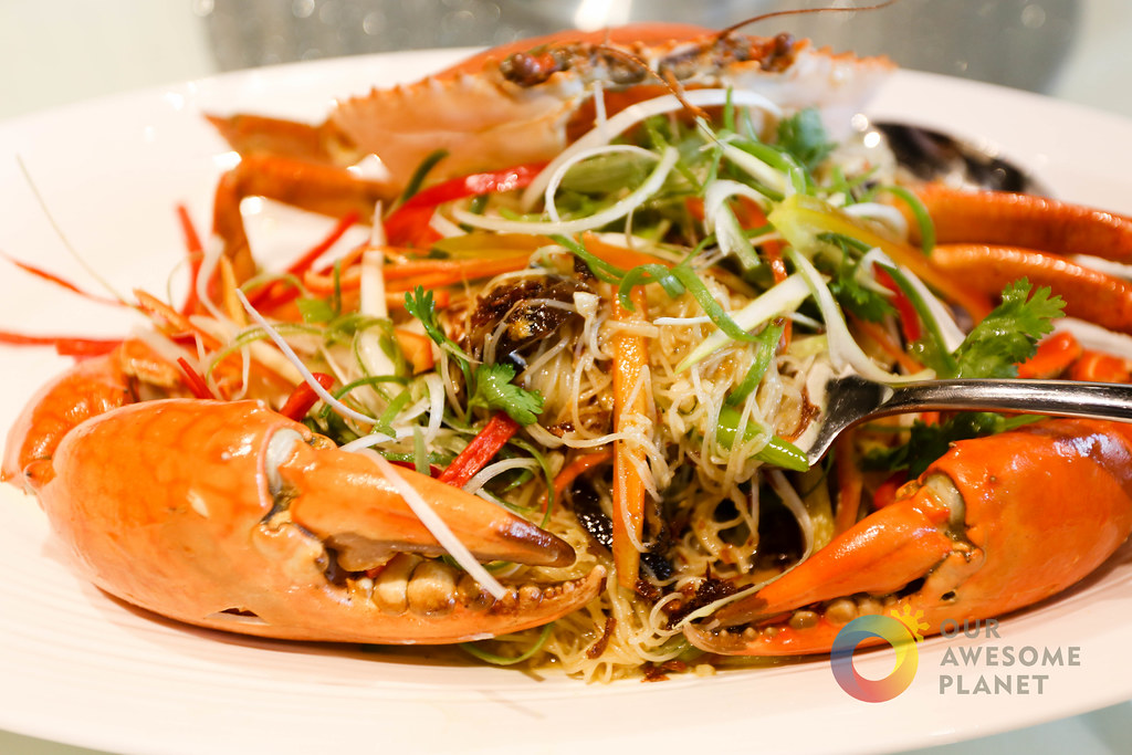 MING KEE's King Crab–Triple Cooked with Beehoon–now in Manila! (A Review)