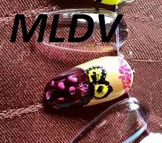 nail art chouette