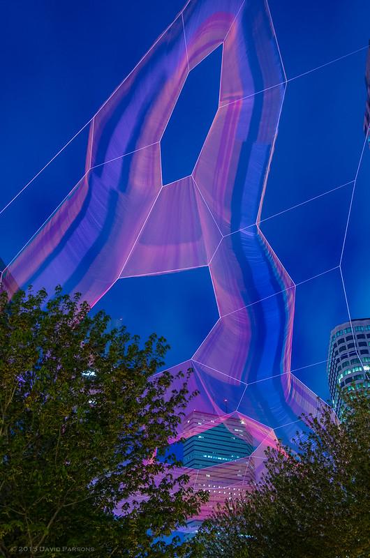 Janet Echelman Art installation