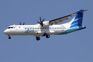 2 juin 2015 - GARUDA  INDONESIA - ATR 72-600   F-XXEZ  c/n 1249 - LFBO - TLS