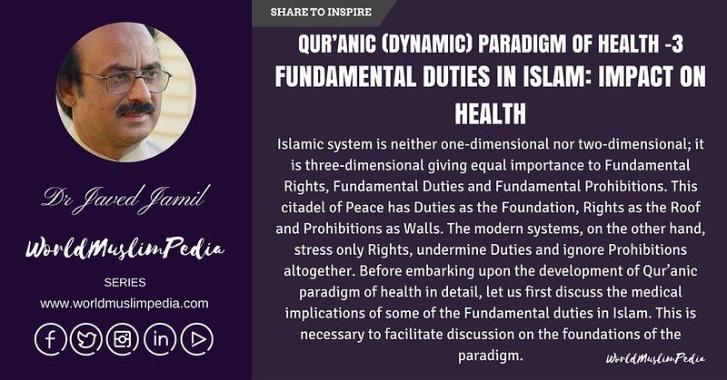 FUNDAMENTAL DUTIES IN ISLAM- IMPACT ON HEALTH