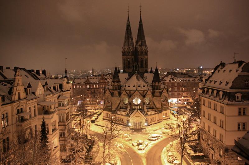 Deutsch Städte überlebt Zweiten Weltkrieg