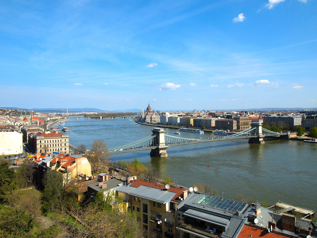 Budapest, Hungary from Castle Hill