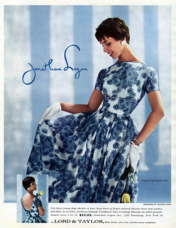 Jonathan Logan designed by Jeanne Carr 1958 | by myvintagevogue
