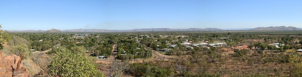 Kununurra from Kellys Knob Lookout, Western Australia