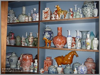 כדים ופסלים סיניים ב- Tim Raue