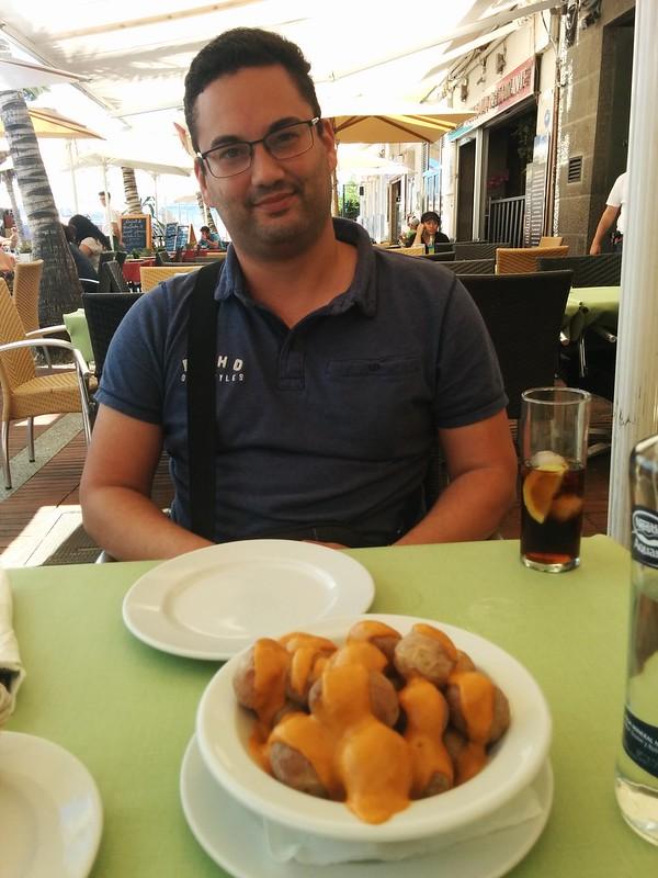 Las Palmas de Gran Canaria | La Oliva Restaurante | Papas arrugadas y Ariel