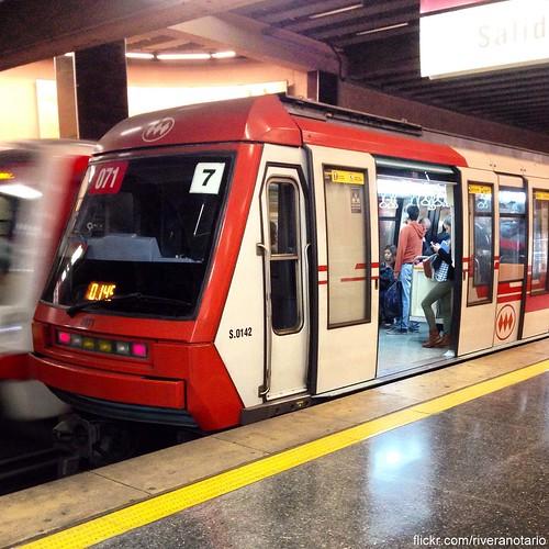 NS93 - Metro de Santiago