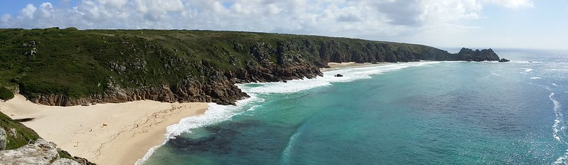 At Porthcurno #SWCP #sh
