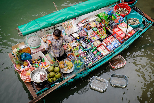 Vendor in Halong Bay
