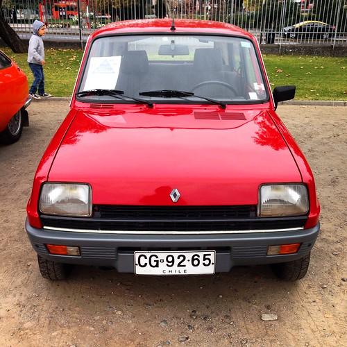 Renault 5 - Patrimonio sobre ruedas - Día del Patrimonio, Santiago 2015