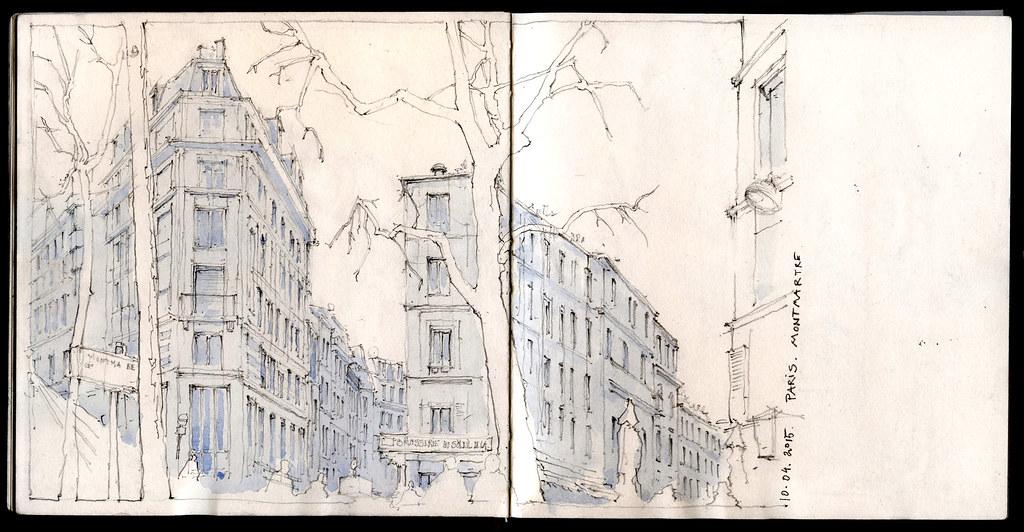 Paris - Montmartre | Avril 2015 | Fabien Denoel | Flickr