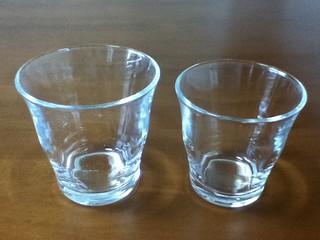 無印ガラスグラス