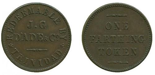 1874 Trinidad Farthing