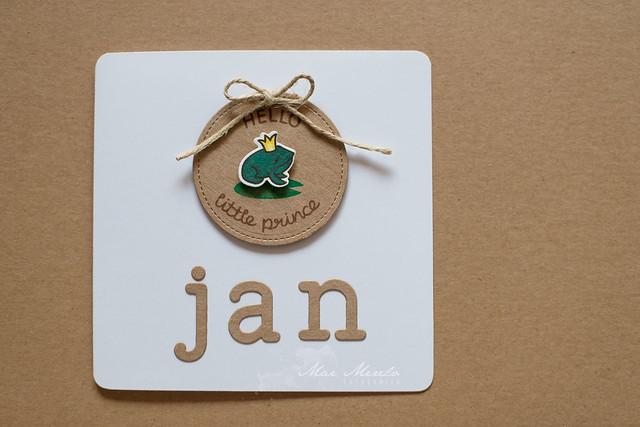 Hello Little Prince Card