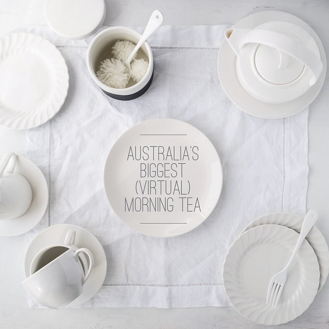 Guess what guess what?! From tomorrow through the end of June @simmerandboyle and myself are hosting a *virtual* #BiggestMorningTea on our blogs and we'd love you to join us in supporting @ccnewsouthwales!  More info (and treats of course) on our sites to