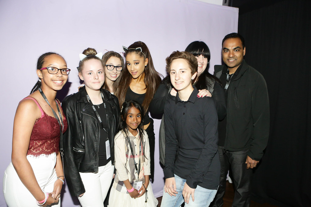 Ariana grande london meet and greet ariana grande group flickr ariana grande london meet and greet by ameliabreen m4hsunfo