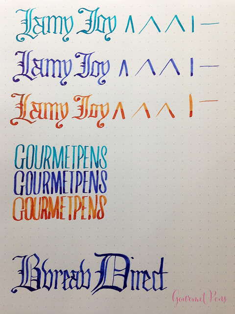 Review Lamy Joy Calligraphy Set @BureauDirect @Lamy (19)