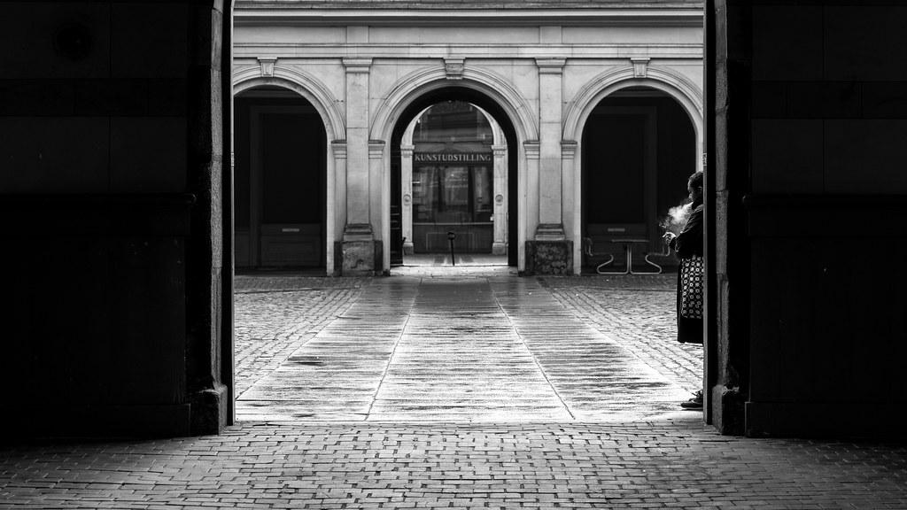 Copenhagen denmark black and white street photography by giuseppe milo www