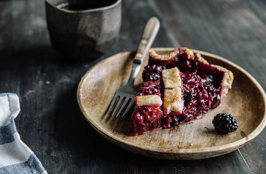Berry Balsamic Pie