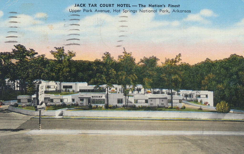 Jack Tar Court Hotel - Hot Springs National Park, Arkansas