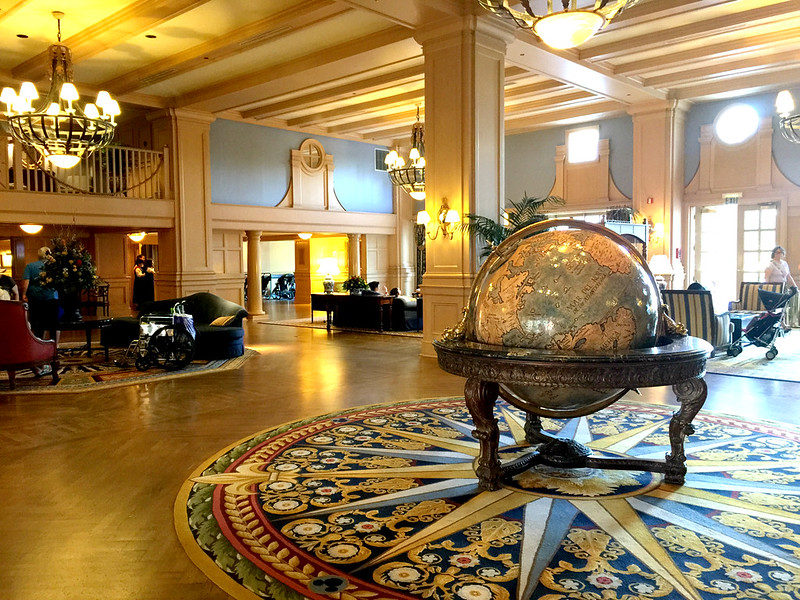 Lobby at Disney's Yacht Club Resort