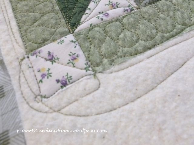 Forest Paths quilting 3