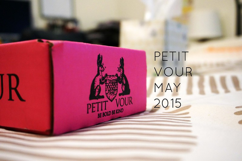 Petit Vour Unboxing May 2015 1