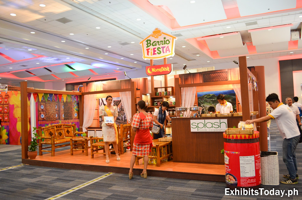 Barrio Fiesta Trade Show Booth