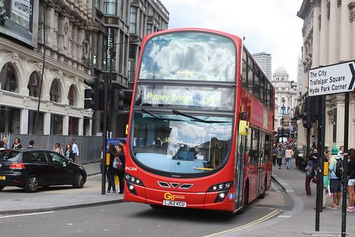 London General WVL504 LJ62KCU
