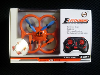 Orange NiHui U207 nano quadcopter box