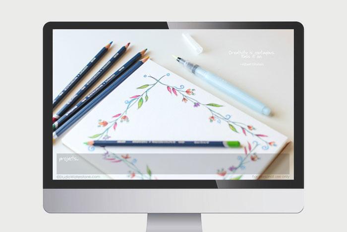 Creativity is Contagious Desktop Wallpaper