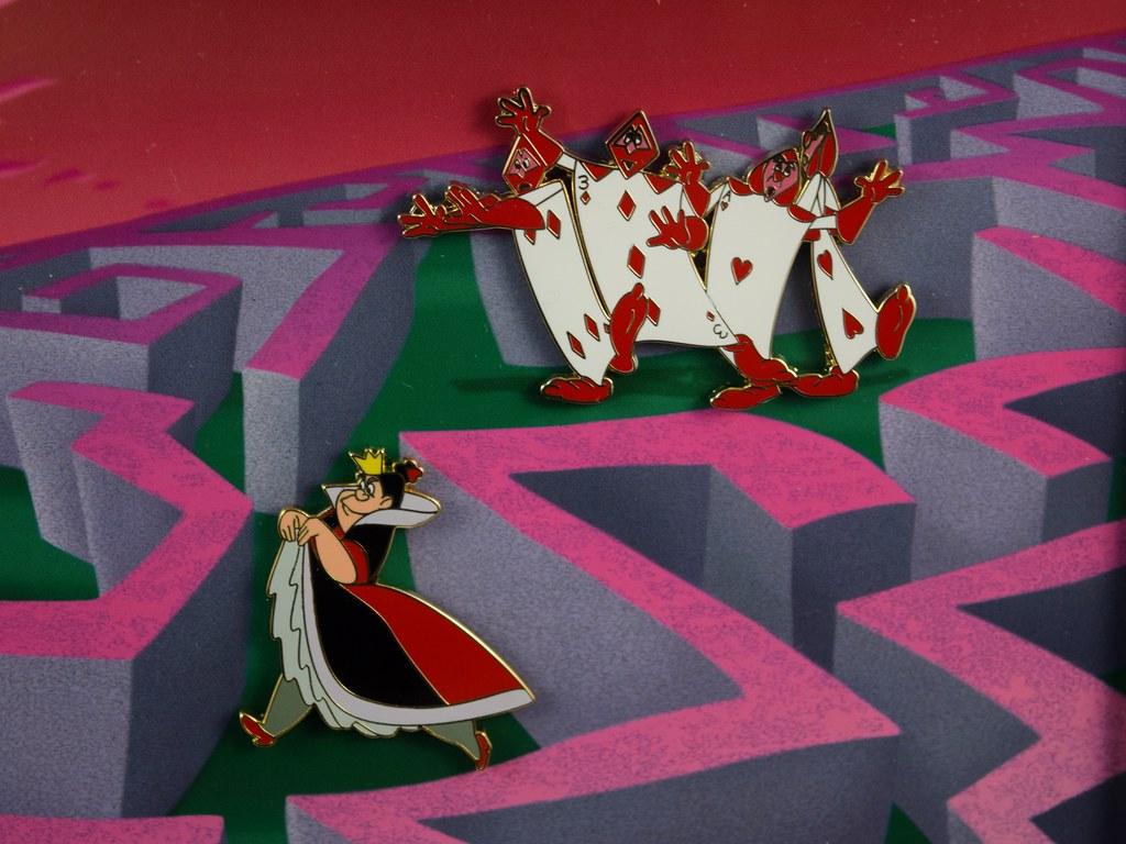 Alice in Wonderland 65th Anniversary Framed Pin Set - Disn… | Flickr
